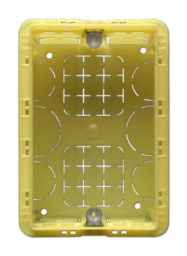 Аксессуары для акустики APart BBI1 Настенная монтажная коробка для панелей дистанционного управления PM1122R или ZONE4R, 80*115*40 мм.