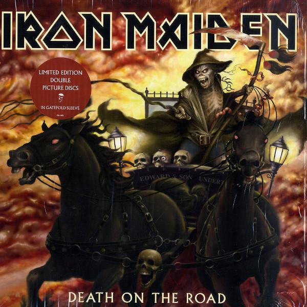 Виниловые пластинки Iron Maiden DEATH ON THE ROAD (Picture disc/180 Gram) meijuya aromatherapy essential oil mint scent 10ml