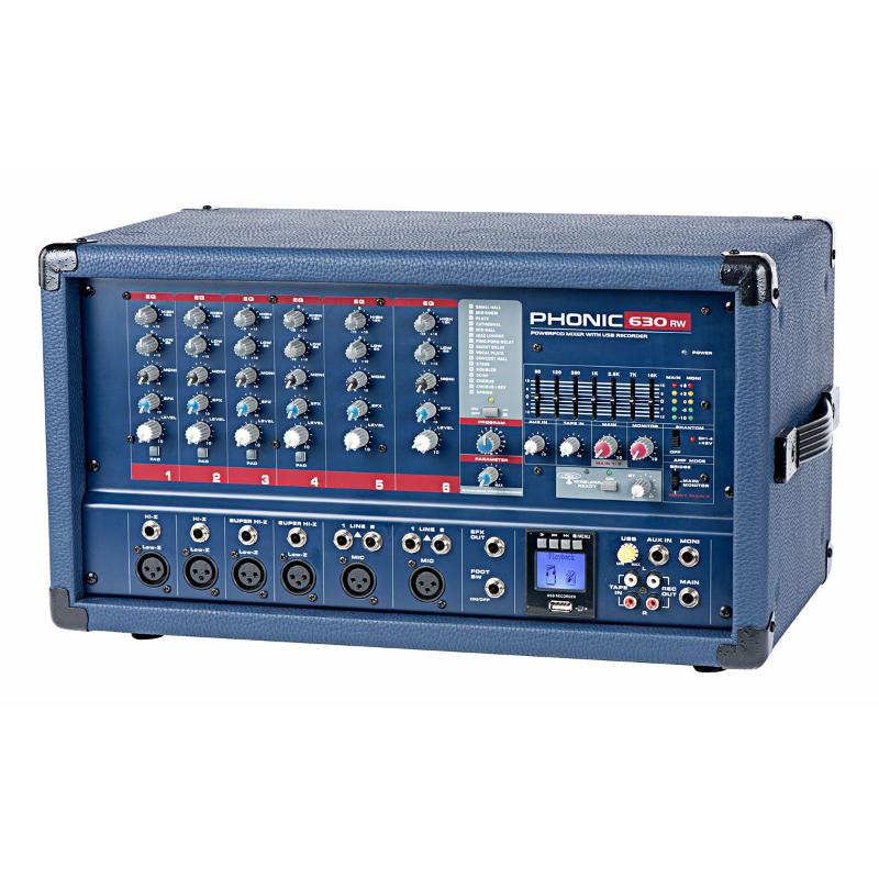 Микшерные пульты PHONIC Powerpod 630RW