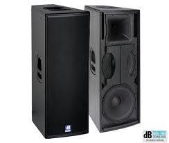 Концертные акустические системы dB Technologies F212