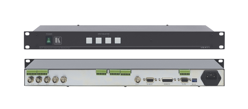 Оборудование для аудио/видео коммутации Kramer VS-411