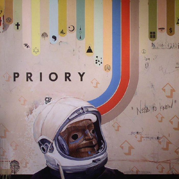 Виниловые пластинки Priory NEED TO KNOW виниловая пластинка priory need to know 1 lp