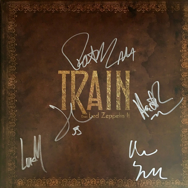 Виниловые пластинки Train DOES LED ZEPPELIN II led zeppelin the complete story whole lotta love special collectors edition