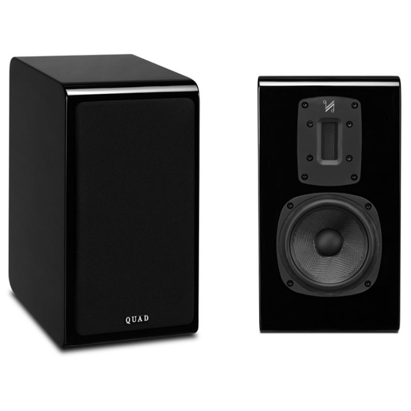 Полочная акустика Quad S-2 piano black акустика центрального канала paradigm studio cc 490 v 5 piano black