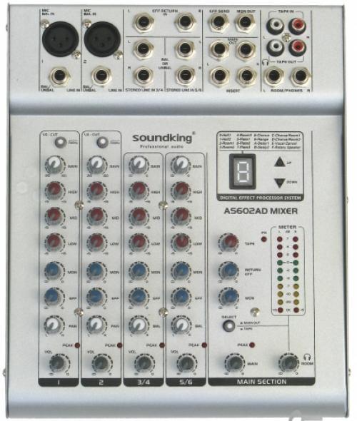 Микшерный пульт soundking as602ad инструкция