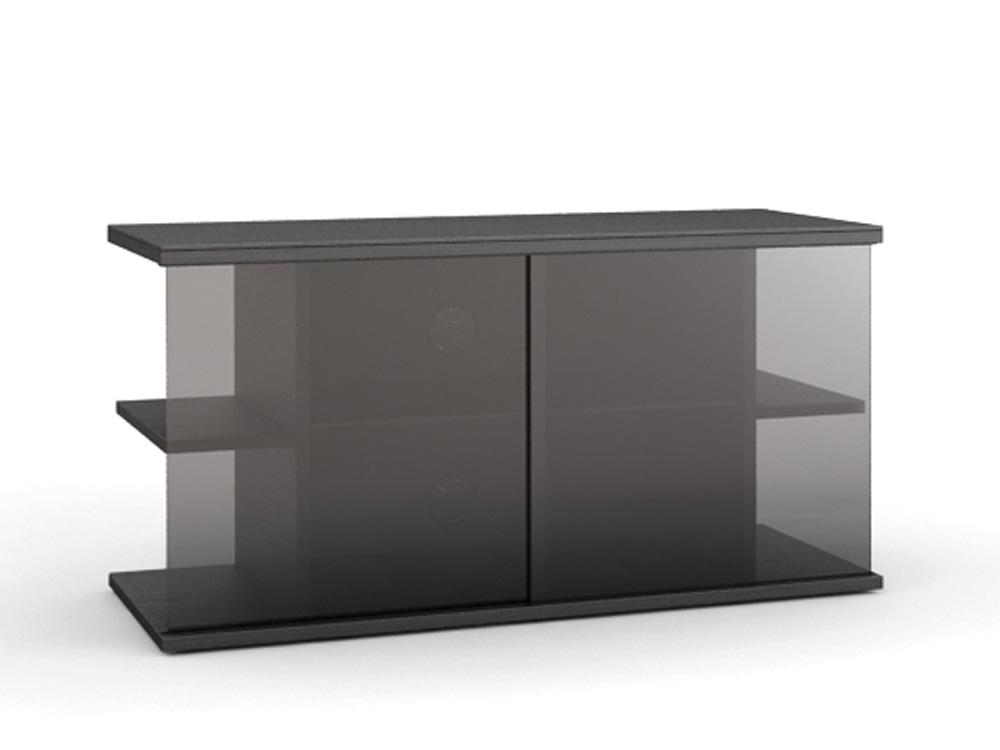 Подставки под телевизоры и Hi-Fi MD 519.0910 черный/дымчатое стекло стойка metaldesign md 552 planima черный дымчатое стекло