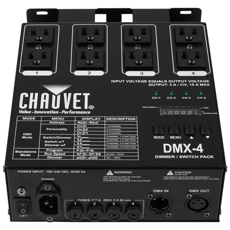Управление светом Chauvet