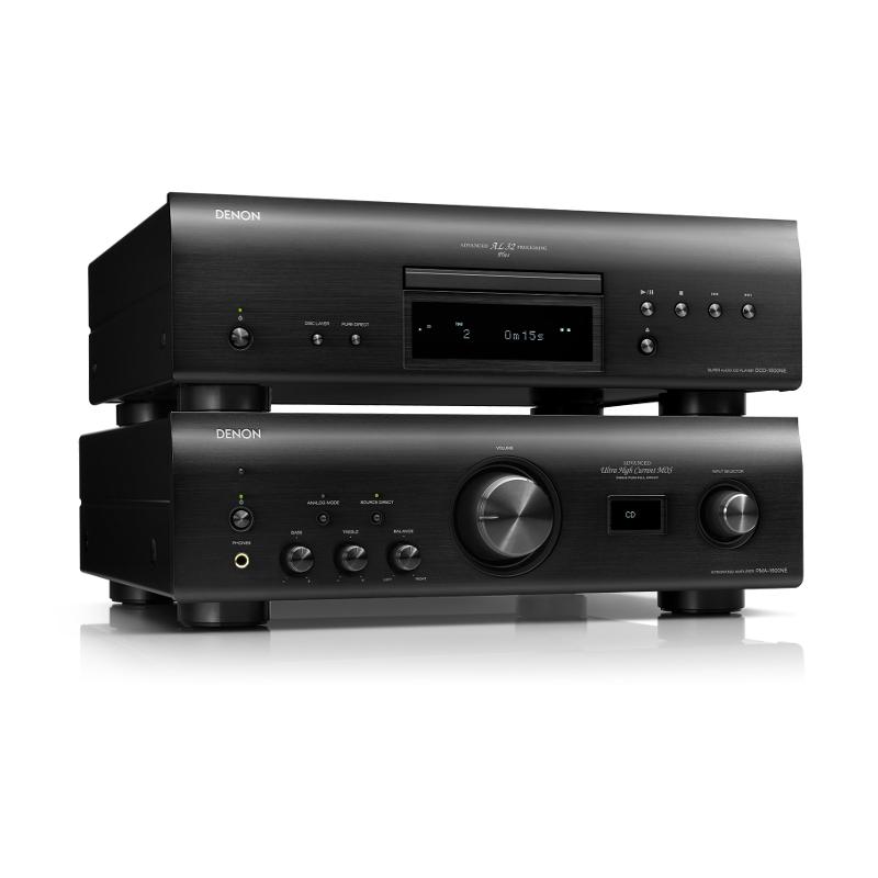 Стереокомплекты Denon PMA-1600NE + DCD-1600NE black