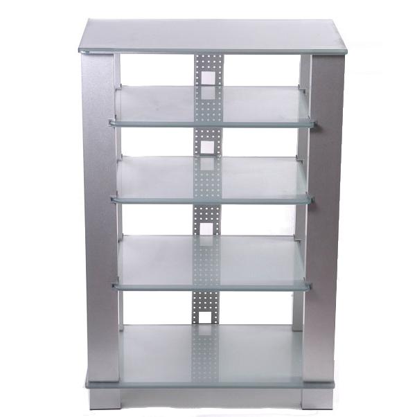 Подставки под телевизоры и Hi-Fi Antall Hi-Fi 5 стекол (матовое серебро/ белое матовое сте брюки diesel 00swwl 0iani 900