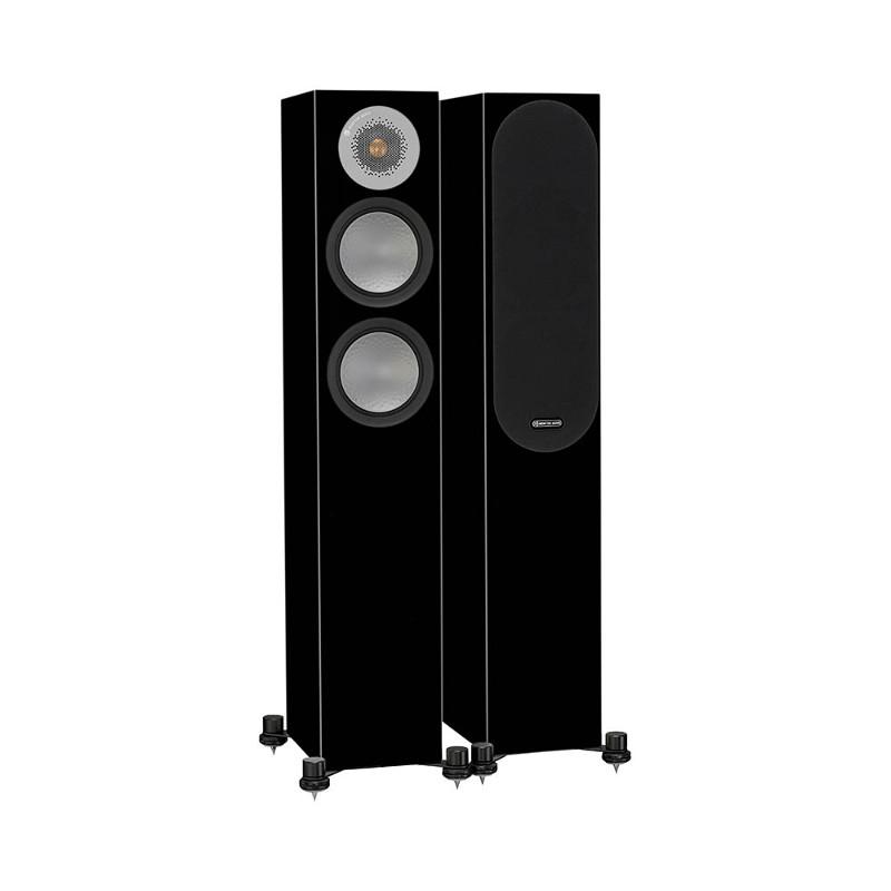 Напольная акустика Monitor Audio Silver 200 high gloss black цена 2016