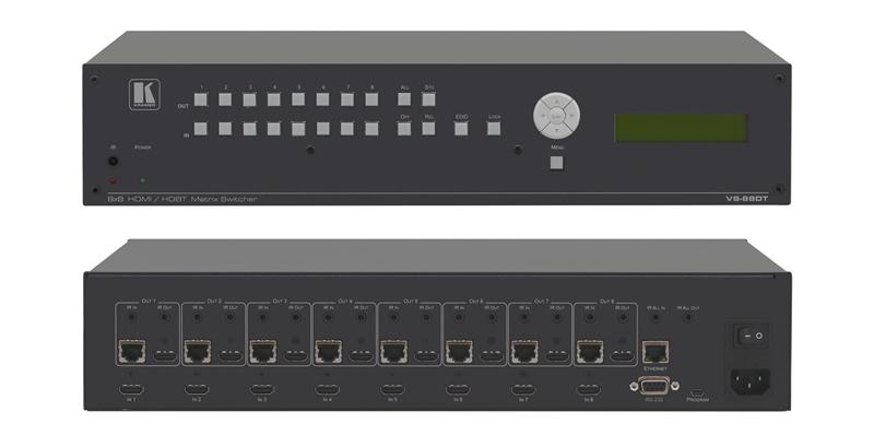 Оборудование для аудио/видео коммутации Kramer VS-88DT