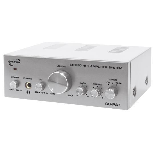 Интегральные стереоусилители Dynavox CS-PA1 MK silver dynavox et 100 silver 206396