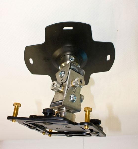 Крепление проекторов EuroMet 09503 АRAKNO MINI Универсальный кронштейн для проектора до 20 кг – серебро