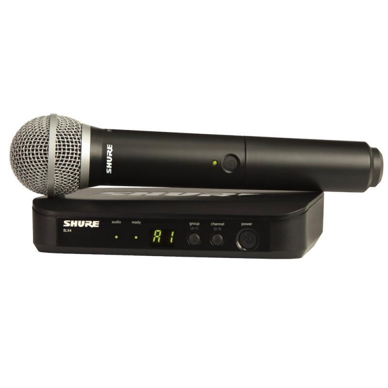 Радиосистемы Shure BLX24RE/PG58 M17 662-686 MHz shure blx288e pg58 m17