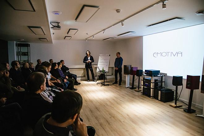 Мастер-класс по бренду Marantz и Definitive Technology в PULT.ru Самара