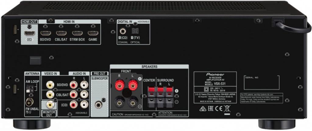 AV-ресивер Pioneer VSX-531